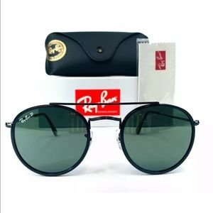 Ray-Ban Round Double Bridge POLARIZED RB3647N